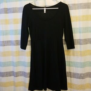 Xhilaration black dress